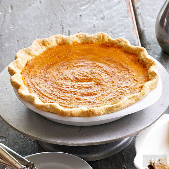 Double Pumpkin Pie with Oat Crust