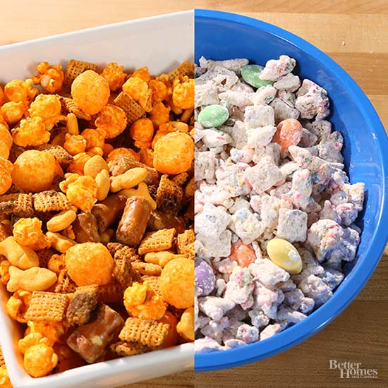 Sweet and cheesy Puppychow Upgrades