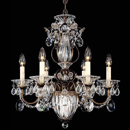 LuxeDecor-Schonbek Bagateele 7 Light Chandelier