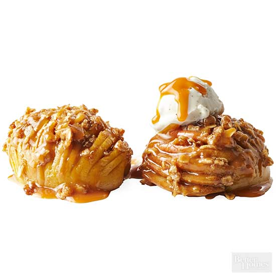 Hasselback Apples or Pears