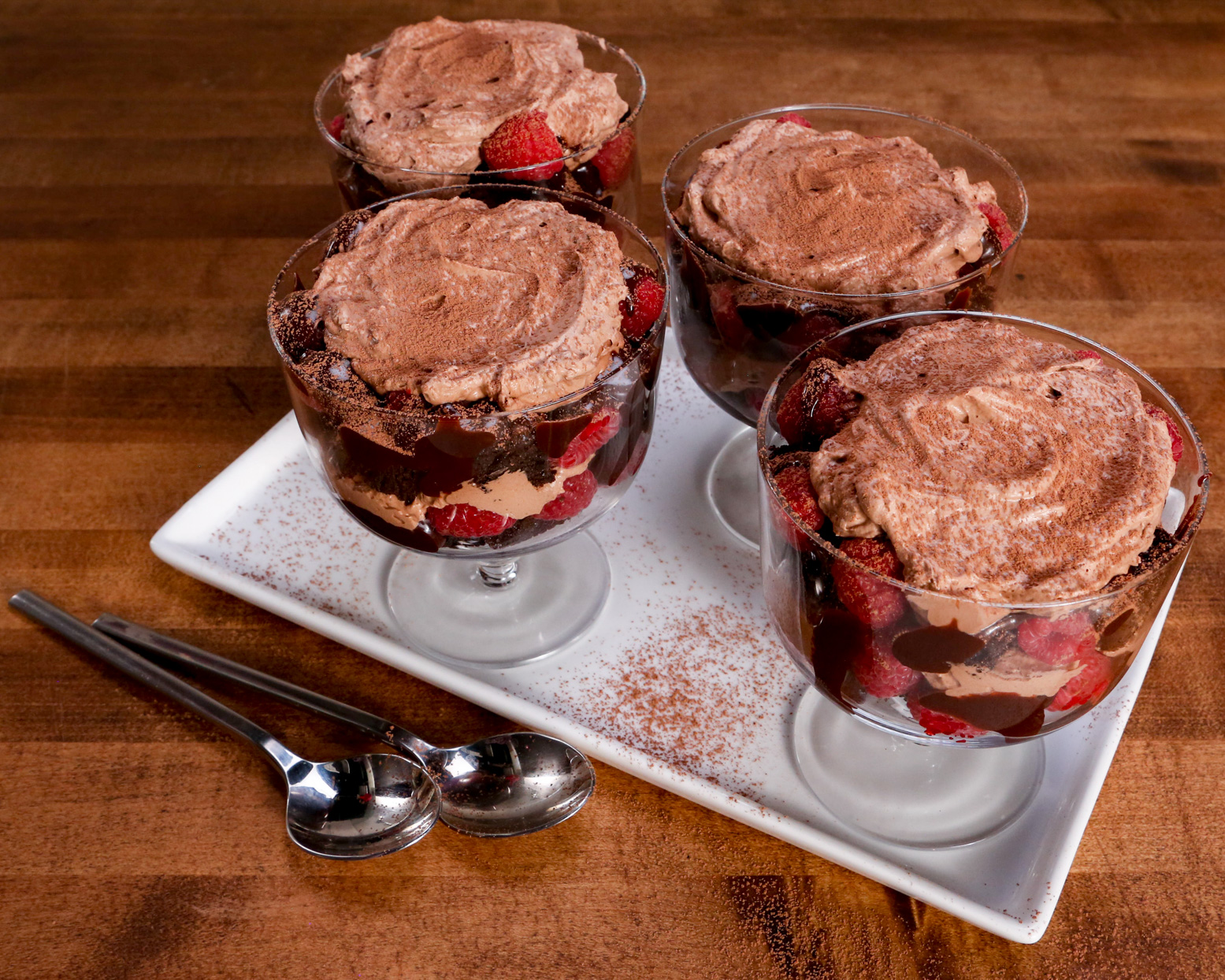 Easy Chocolate Trifles