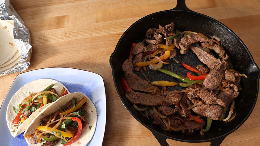 How to Make Skillet Fajitas
