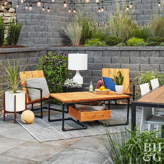 Our Best Diy Outdoor Furniture Ideas Better Homes Gardens