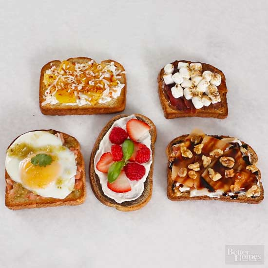 Delicious Toast Toppers (That Go Beyond Avocado)