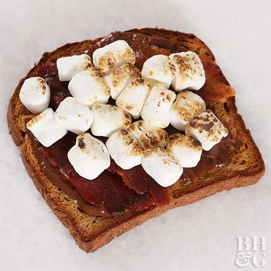 Delicious Toast Toppers (That Go Beyond Avocado) marshmallow