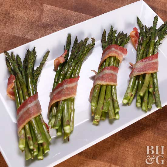 Bacon Party Level Asparagus