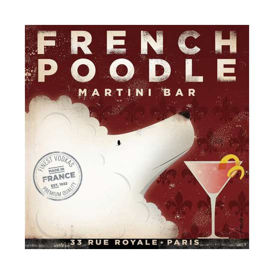 french poodle book