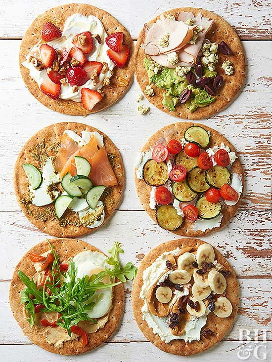 Pita Toppers recipes