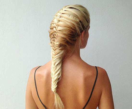 fishtail mermaid braid