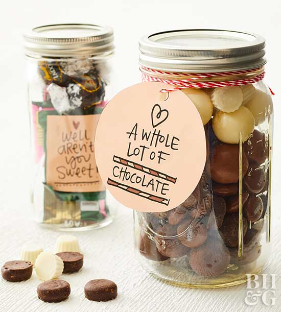 Chocolate-Lovers Mason Jar
