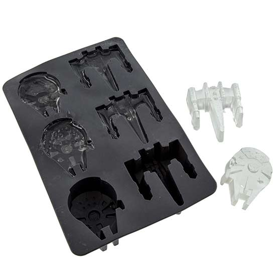 Star Wars Silicone Ice Cube Tray