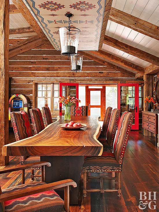 southwestern decor rustic interior
