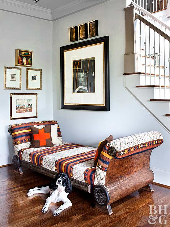 southwestern decor daybed