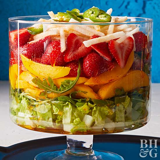 Spicy Fruit Salad, salad, fruit