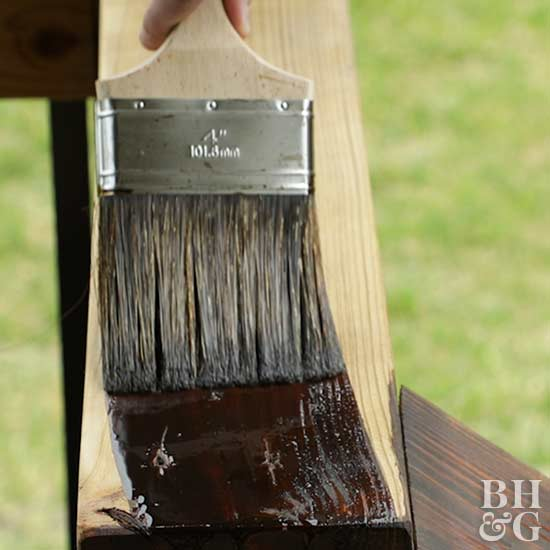 Deck Stain, stain, brush, staining deck, deck