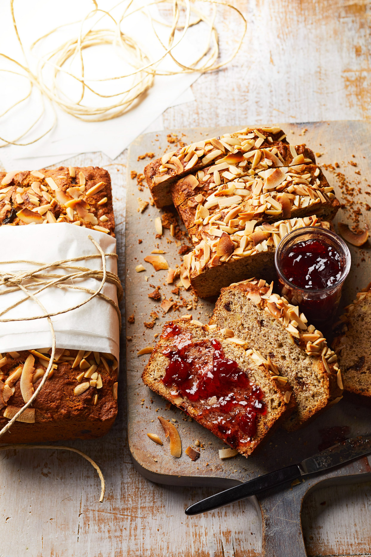 Cherry-Coconut Banana Bread