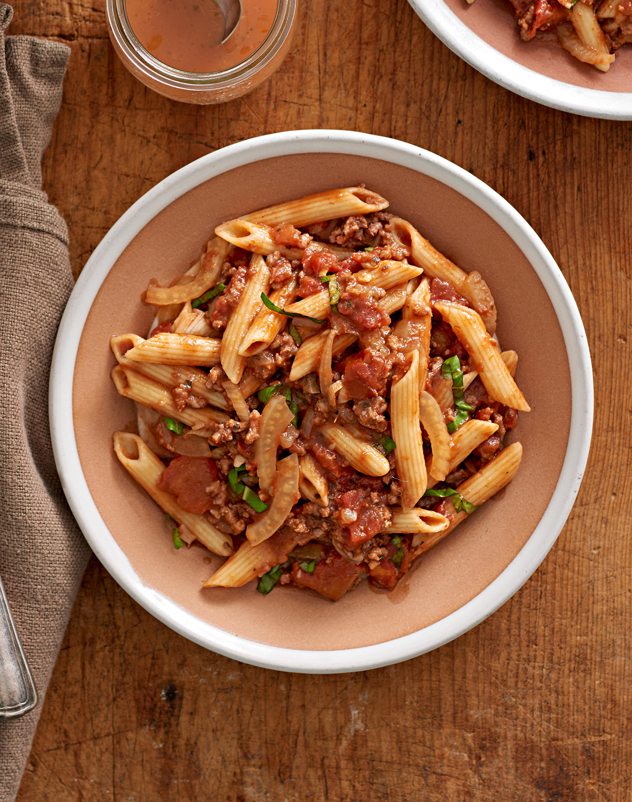 Pasta with Beef-Fennel Ragu