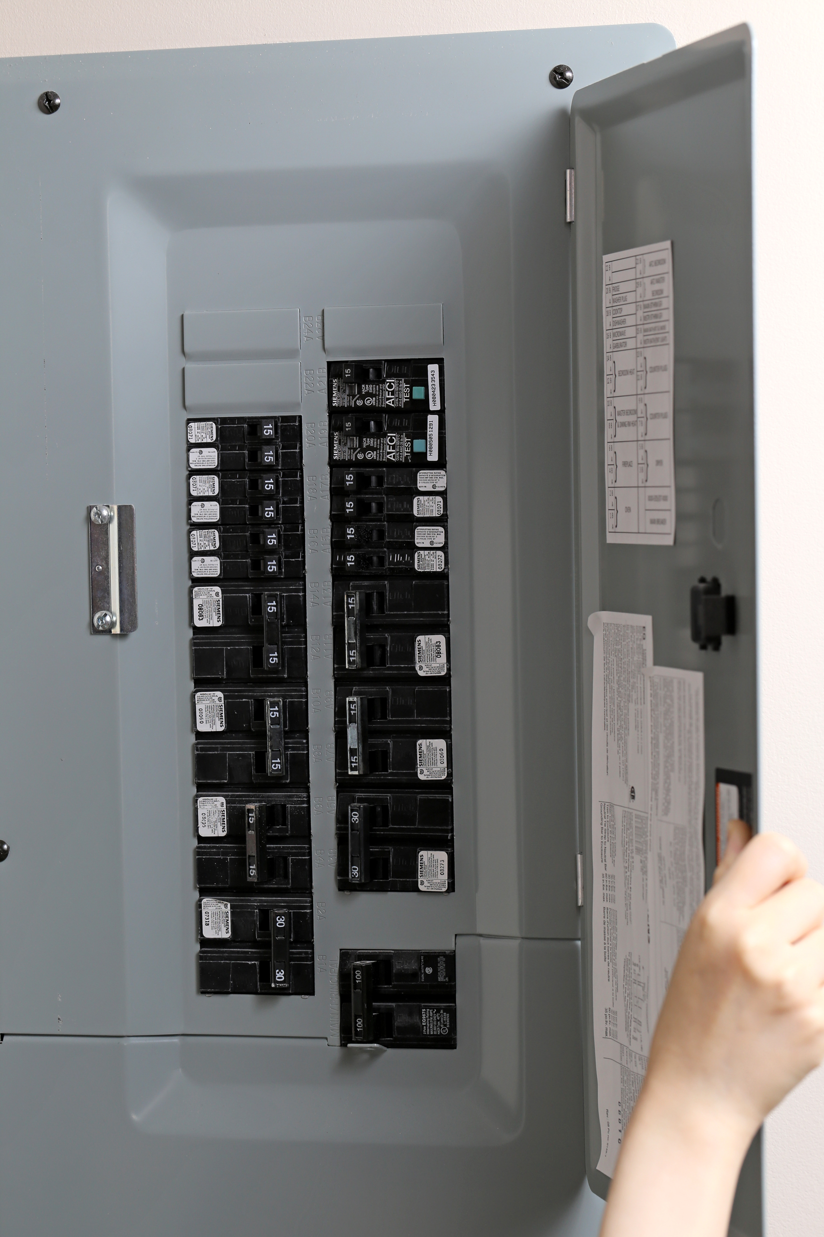 how to check power off electric