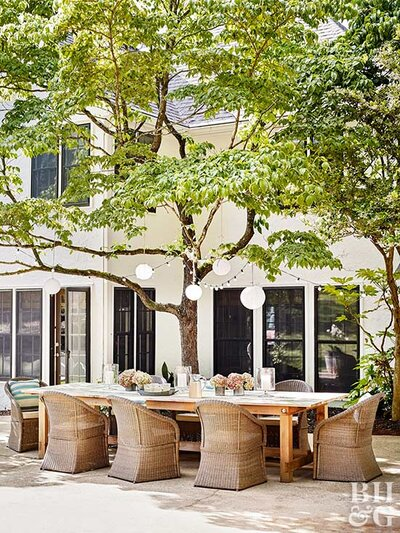 How to Choose a Size for Your Patio | Better Homes & Gardens