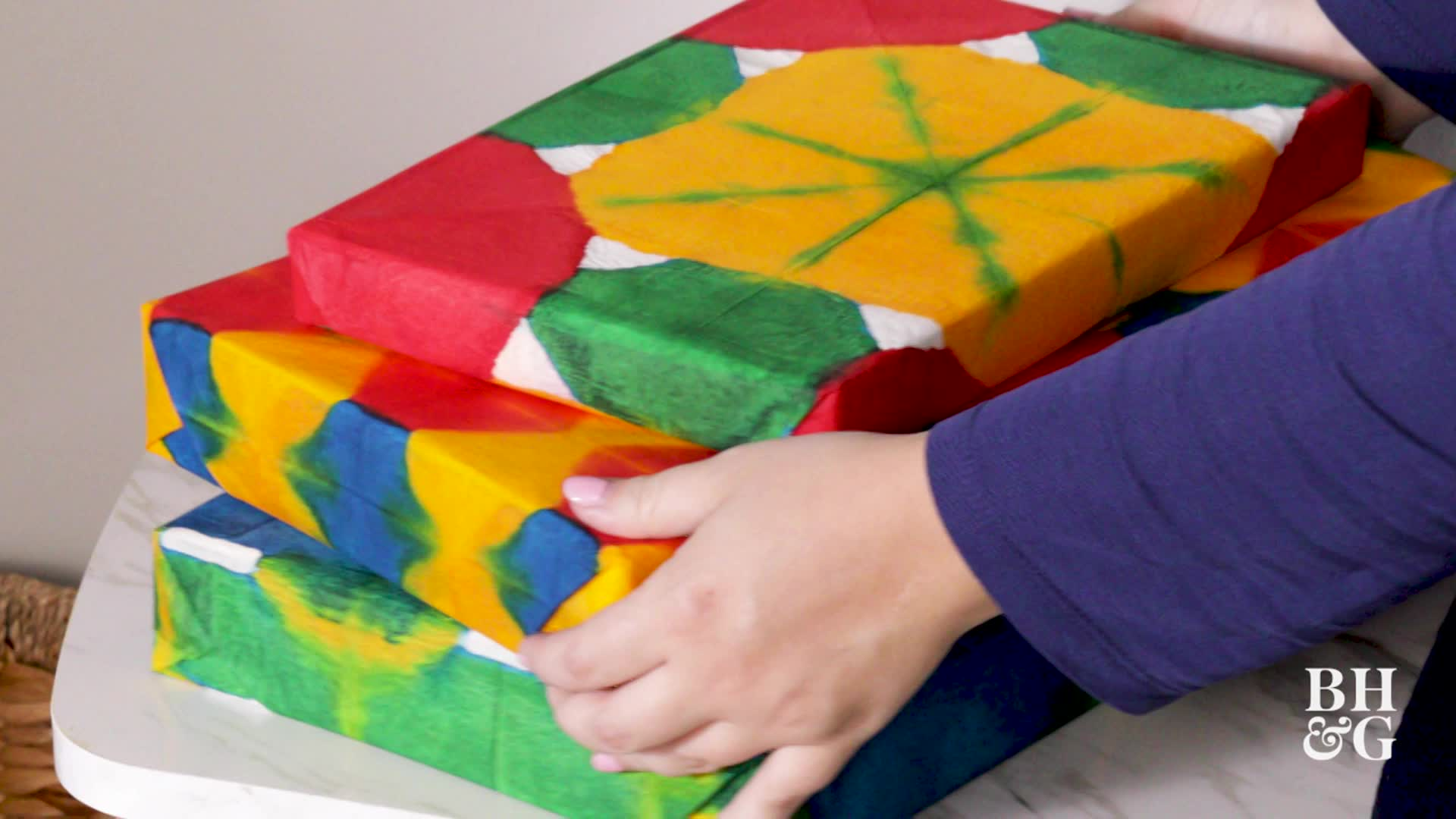 Dyed Tissue Paper