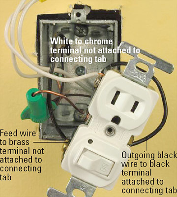 all about combination switches and receptacles  better