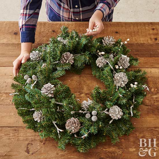 wreath, DIY, Holiday, Holiday decor