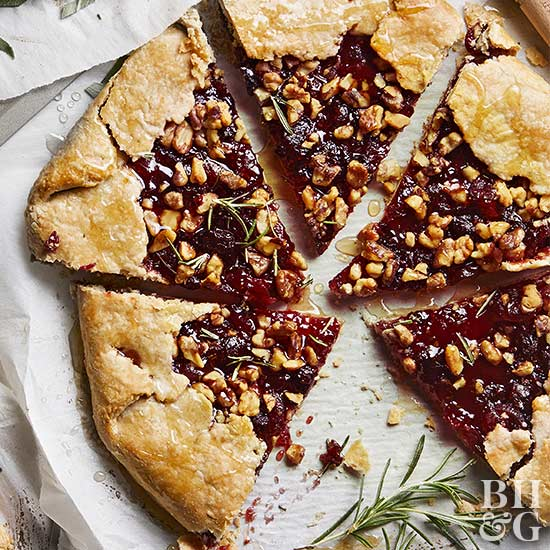 Cranberry-Rosemary Galette