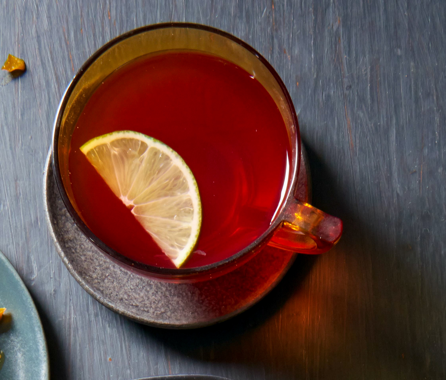 Hibiscus-Tequila Toddy