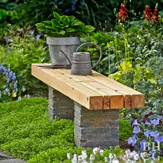 easy-does-it garden bench