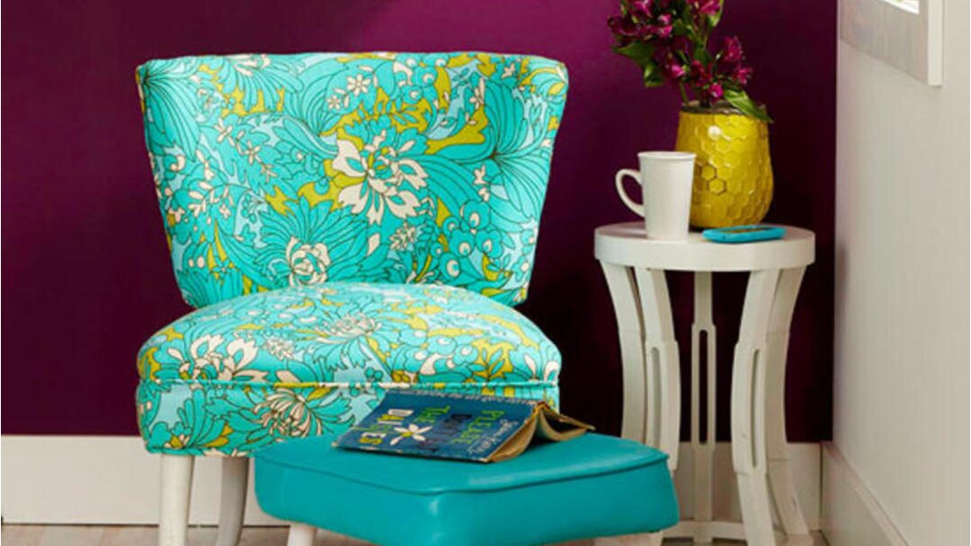 How To Reupholster >> Diy Reupholster A Chair Better Homes Gardens