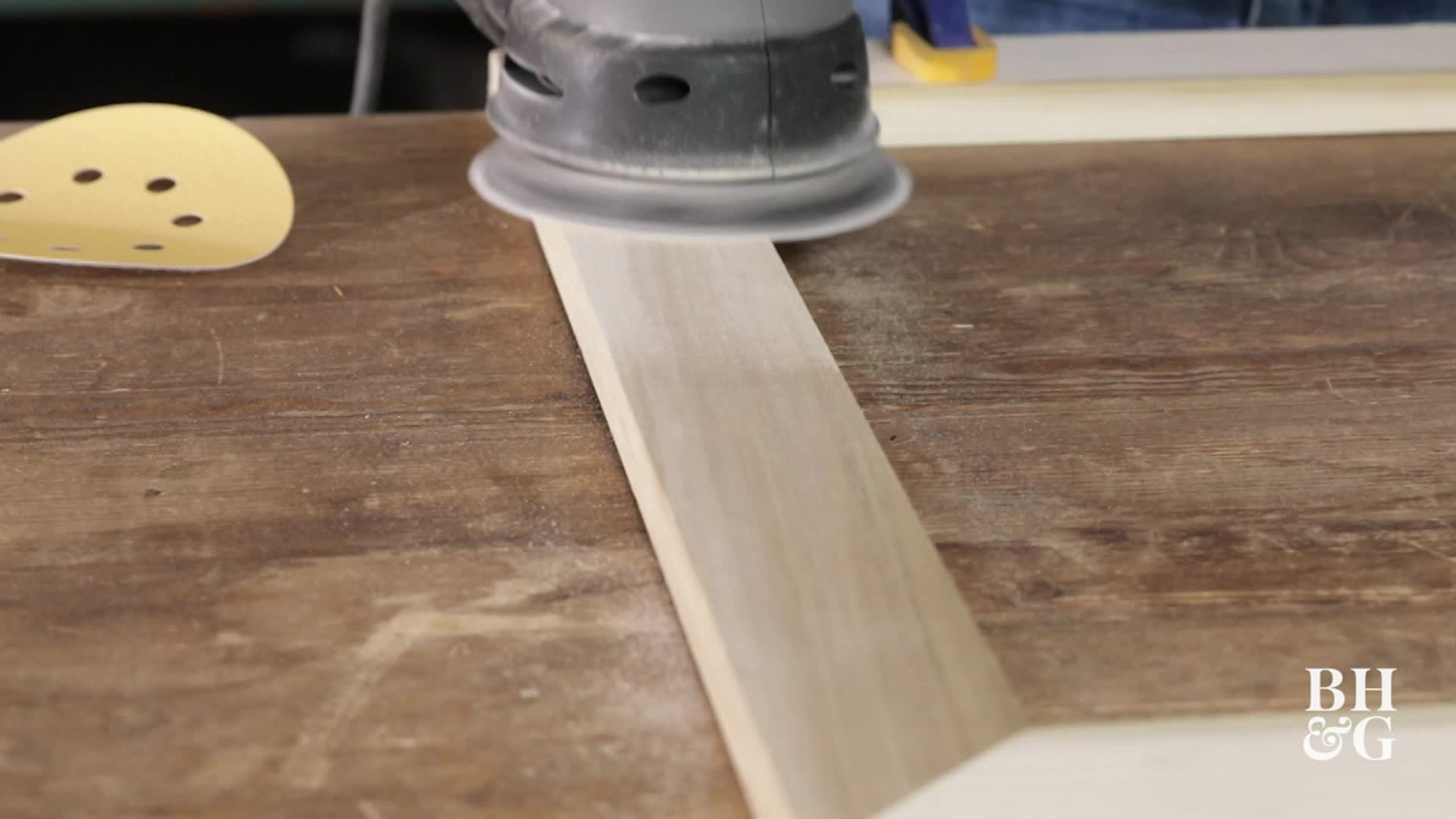 How to Use a Random Orbit Sander
