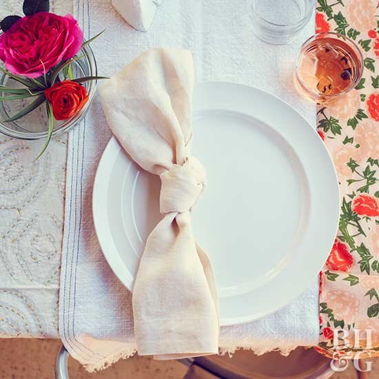 Pretty Floral Place Setting