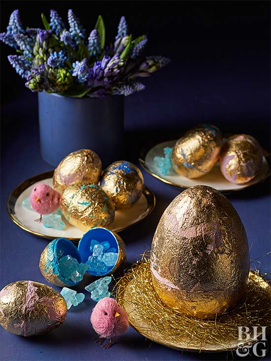 Gilded Easter Decor