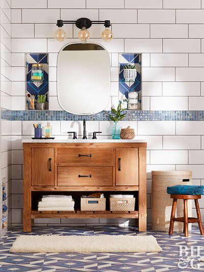 Incredible How To Build Custom Vanity Drawer Storage Better Homes Download Free Architecture Designs Itiscsunscenecom