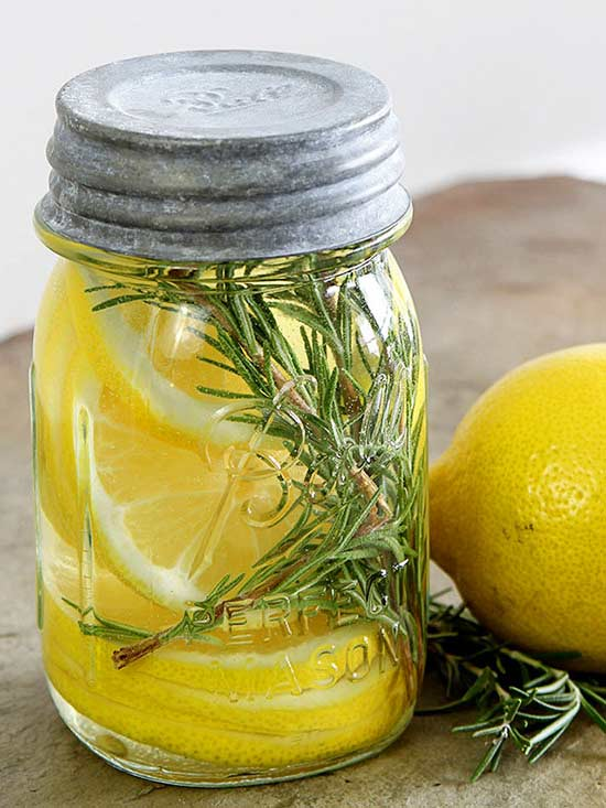 Lemon and Rosemary Room Scent
