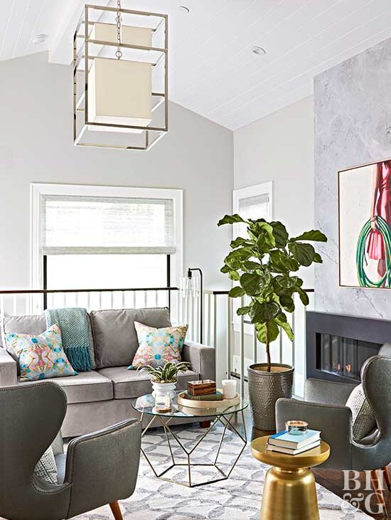 Gorgeous Gray Living Rooms That Are Anything But Boring