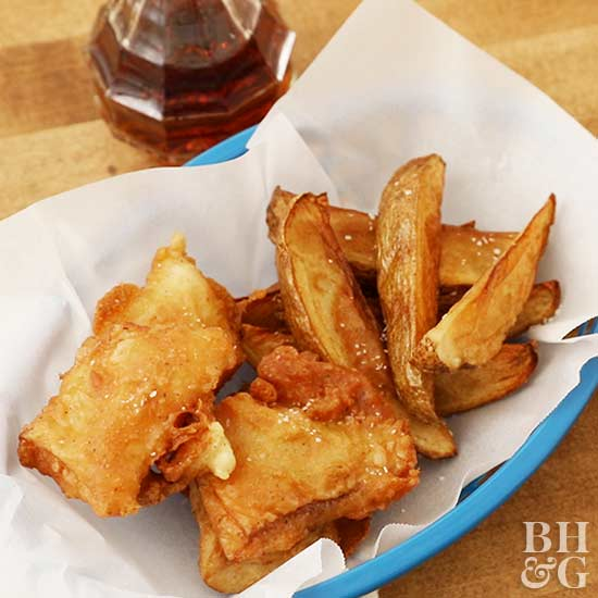 fish and chips, fries, video stills