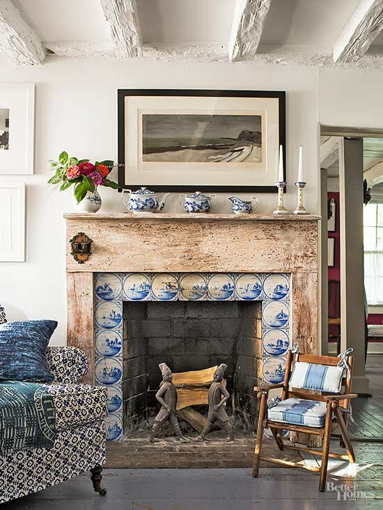 For A Modest Cost Tile Will Alter The Look Of Fireplace And Dramatically Improve Overall Character Room Major Difference In Tiling