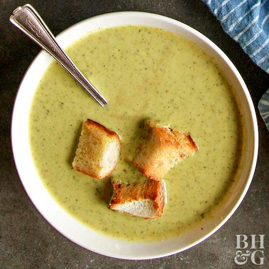 Curried Zucchini Soup