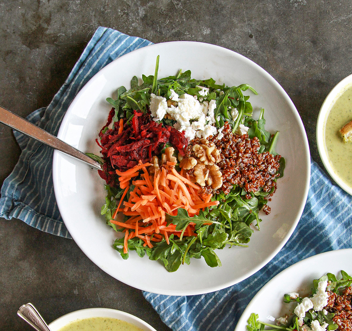 Reset-Button Salad in bowl recipe