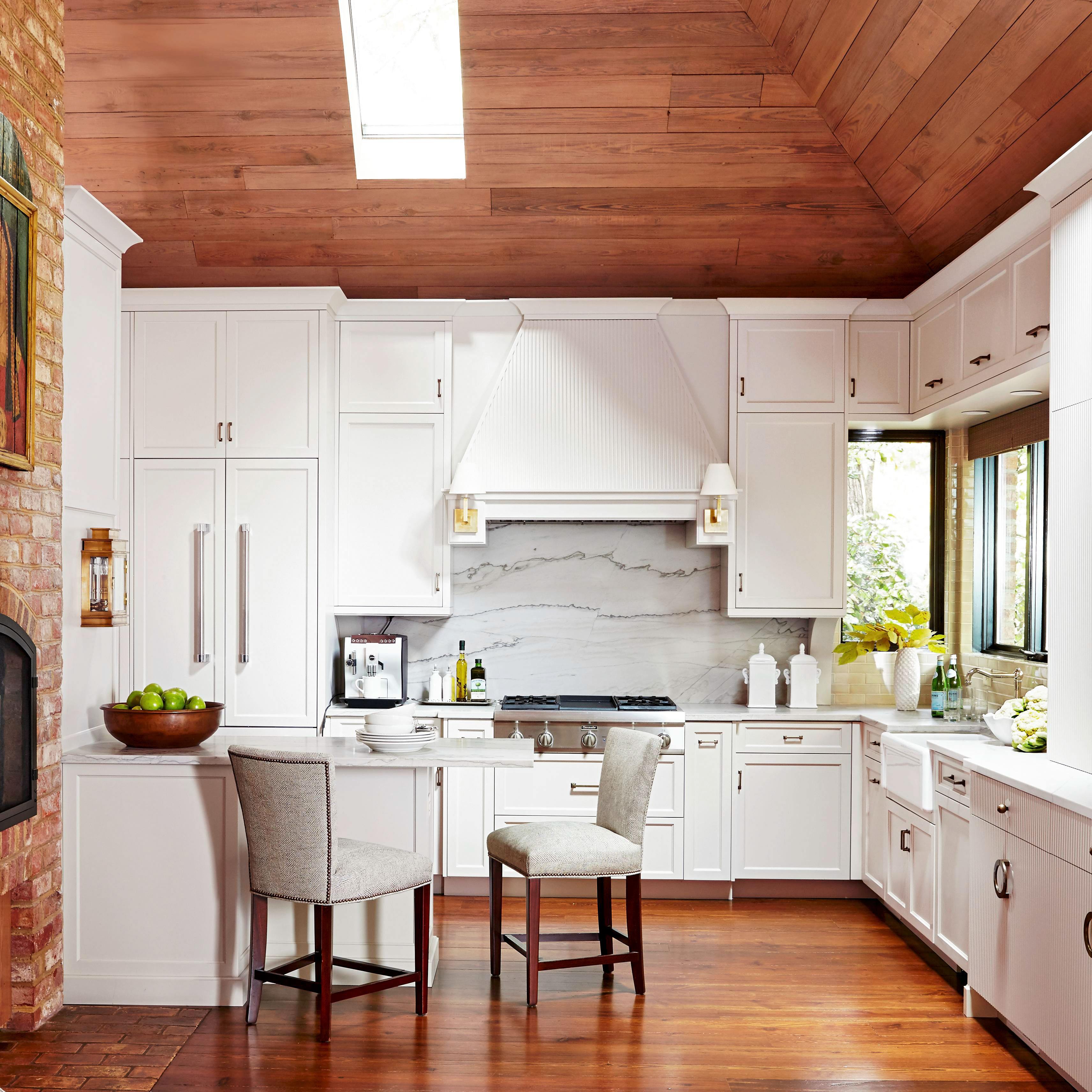 before after north carolina white kitchen