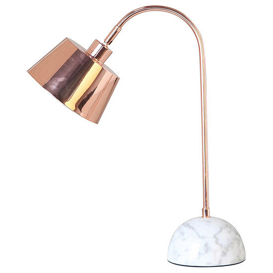 Marble Copper Lamp