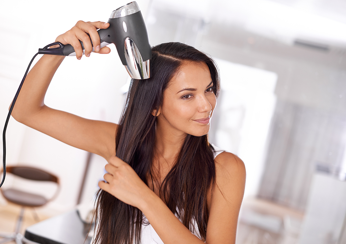 how to do a home blowout
