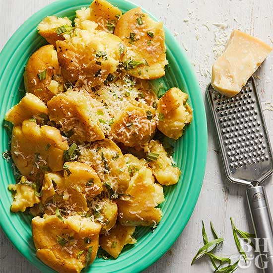 Pressure Cooker Potatoes with Tarragon Butter