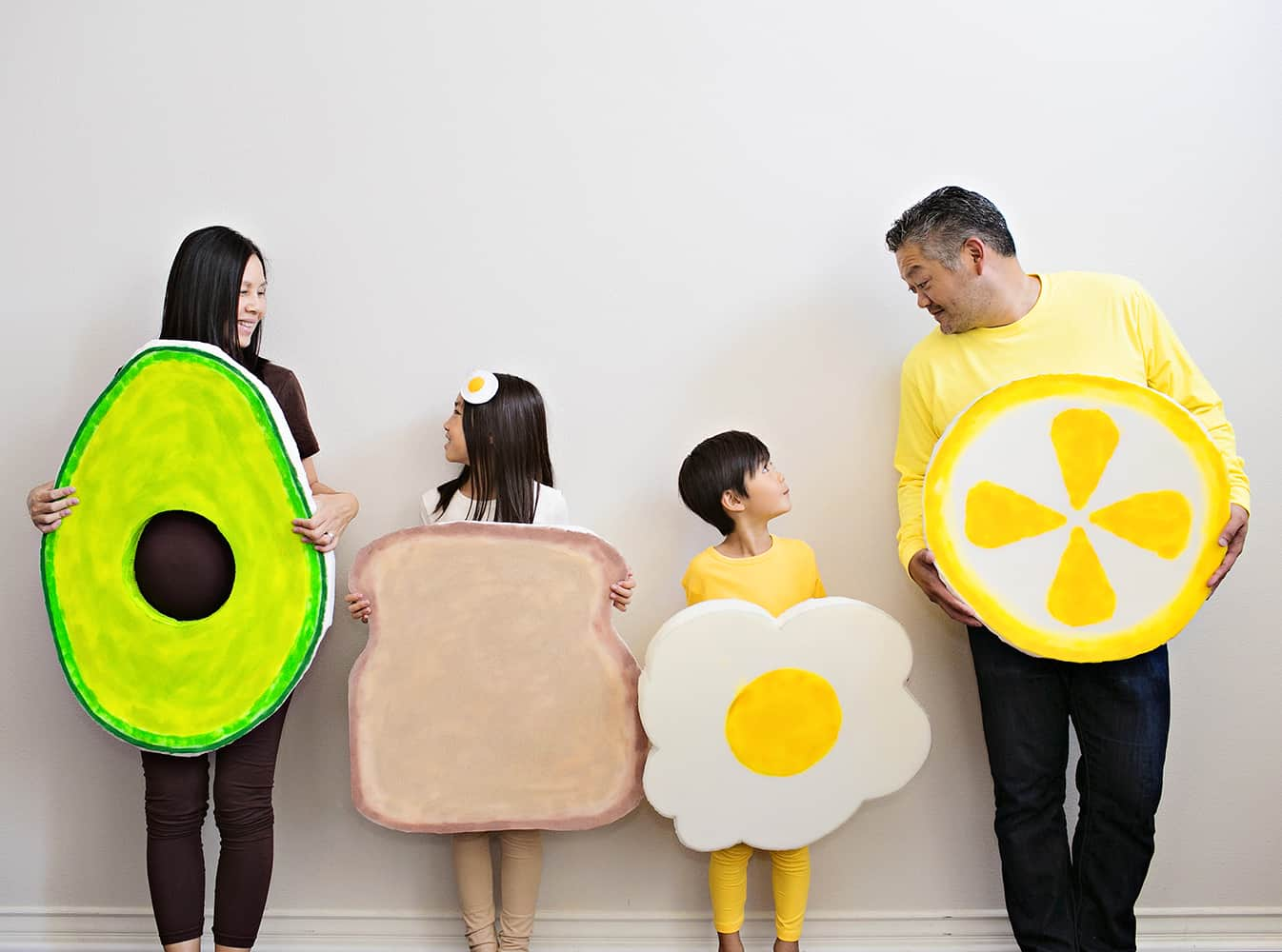Group Costume of Avocado Costume
