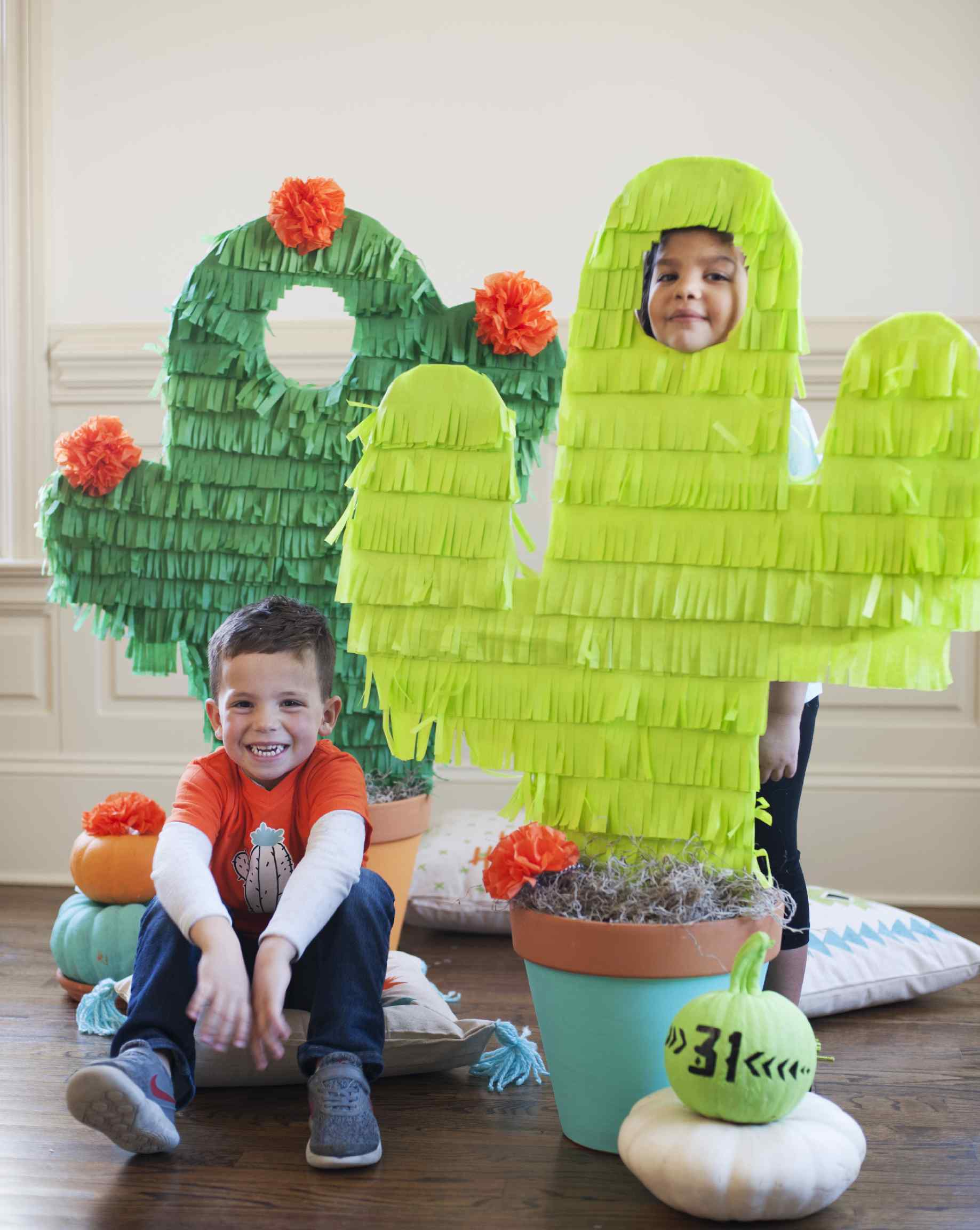 Cactus Halloween Party Decorations
