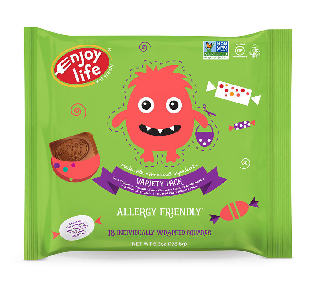 Allergy Free Chocolate Halloween Candy