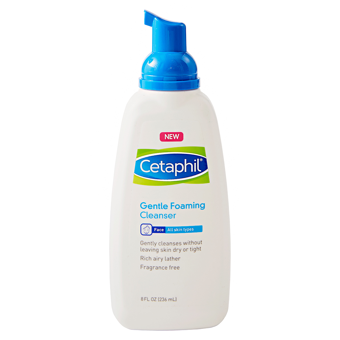gentle foaming cleanser from cetaphil