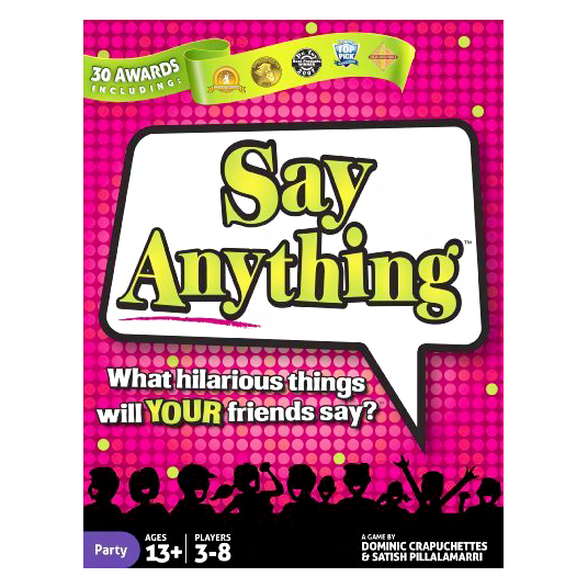 adult board game say anything