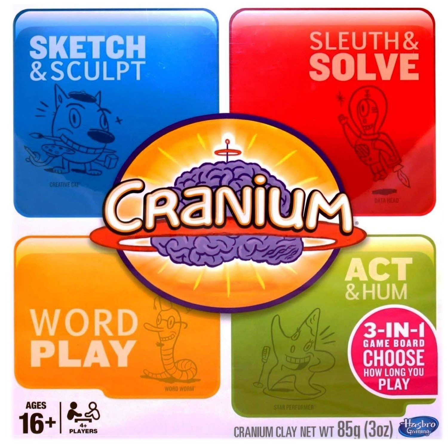 board game for families cranium 3-in-1